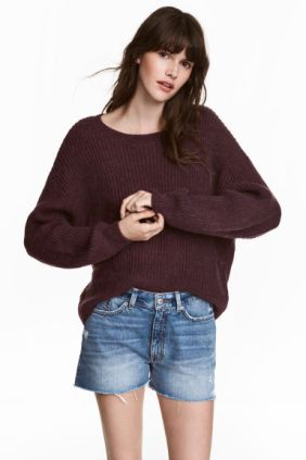 Burgundy Sweater from H&M
