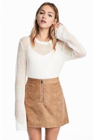 Camel Skirt from H&M