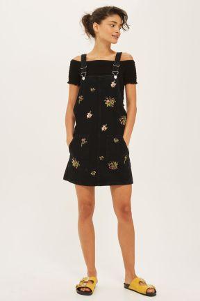 Floral Denim Dress from Topshop